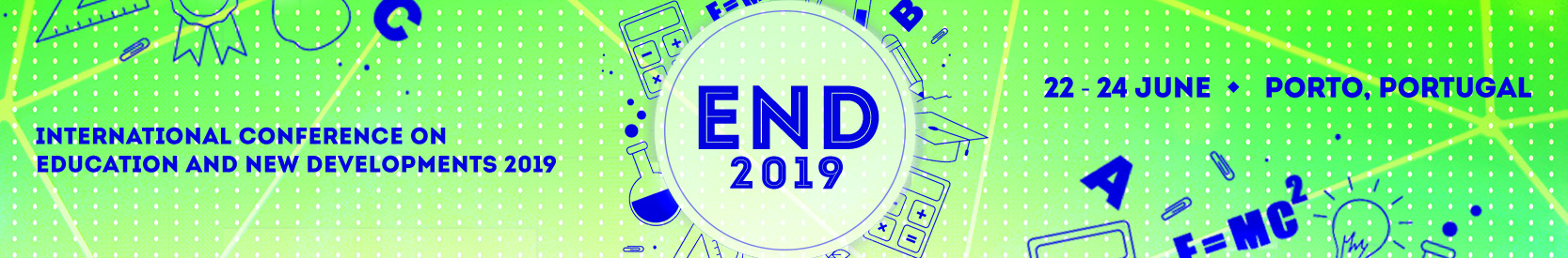 END 2019 | International Conference on Education and New Developments